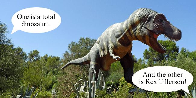 T-rex Donald Trump