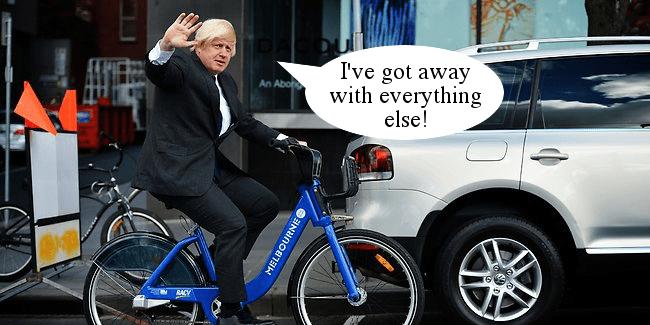 RD116 Boris Johnson getaway