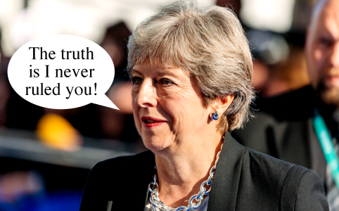 Right Dishonourable Episode 132 Theresa May