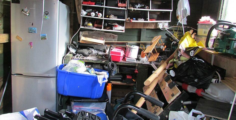 de-clutter your garage