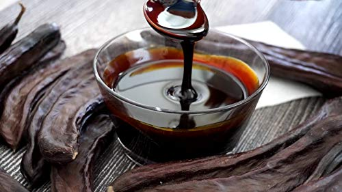 Pure Premium Carob Syrup - No Sugar Added - Vegan Molasses - Natural Sweetener 2