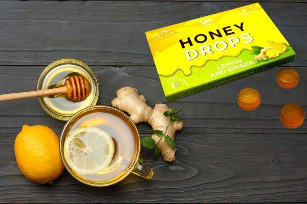 Honey Hard Candy - 100% Pure Honey Lemon and Ginger 5