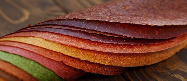 Banana wrap - 100% Natural Dried Fruit Leather 6