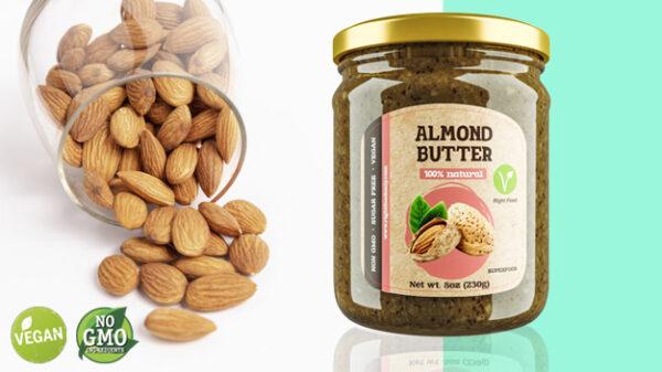 Almond Butter 8oz (230g) 1