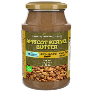 Apricot Kernels Butter Urbech 1 kg | Seed Spread | Zero Sugar | 100% Keto Superfood