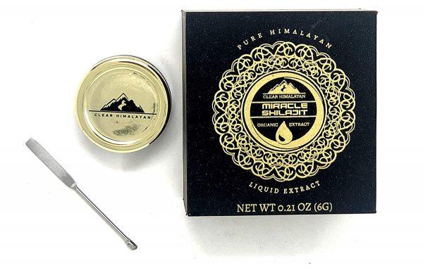 Himalayan Shilajit Resin - Authentic Mumie 100% Natural Liquid Paste 150 Servings (15 g) 4