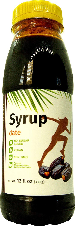 Premium Date Syrup - No Sugar Added - Thick Molasses - Vegan 7