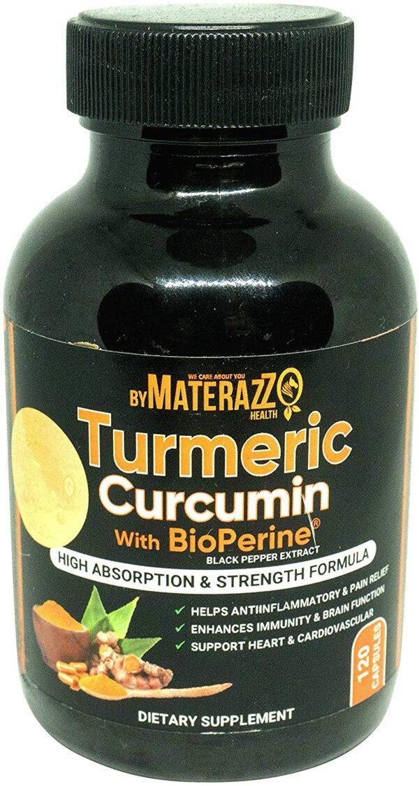 Turmeric Curcumin with Bioperine - 120 Capsules 800mg 3