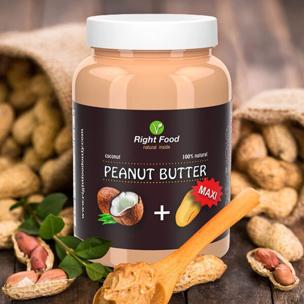 Peanut Butter with Coconut 1 kg 4