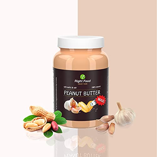 Peanut Butter with Garlic & Salt 1 kg 4