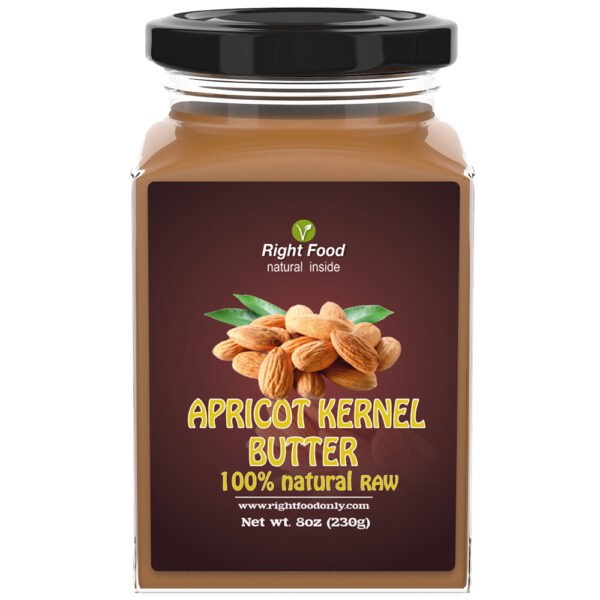 Apricot Kernel Butter Urbech 8oz (230g)   Seed Spread   Zero Sugar   100% Keto Superfood