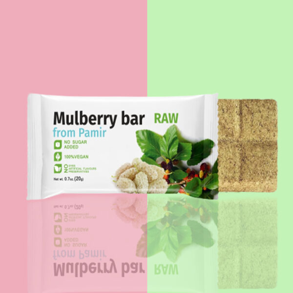 Mulberry Fruit Bar | Pack of 7 Bars | RAW 1