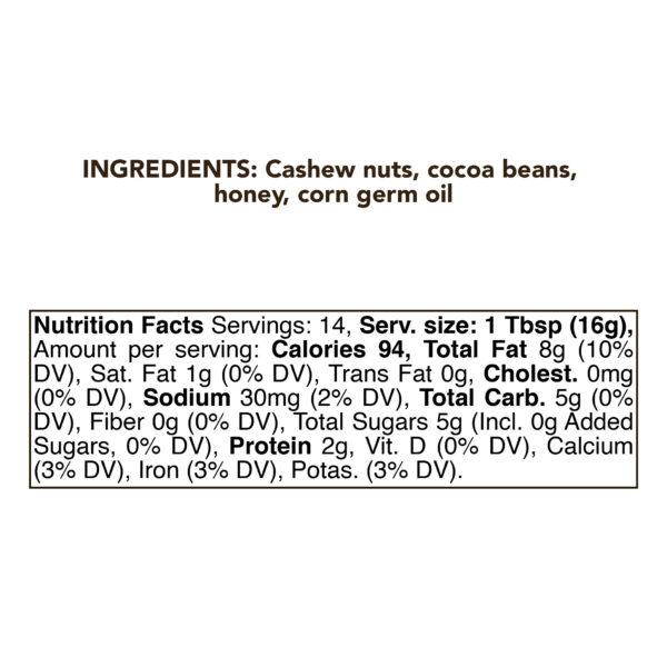 Chocolate Cashew Nut Butter 4
