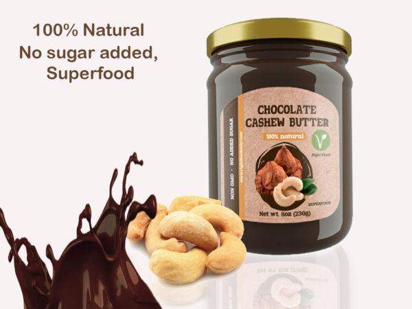 Chocolate Cashew Nut Butter 3