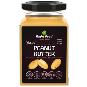 Classic Peanut Butter Urbech 240g | Keto Butter | No Sugar Added | Vegetable Protein | Vegan Superfood