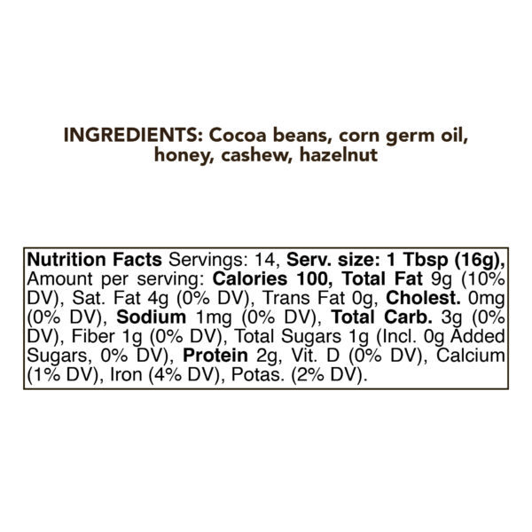 Dark Chocolate Cream Butter 230g (8oz) 1