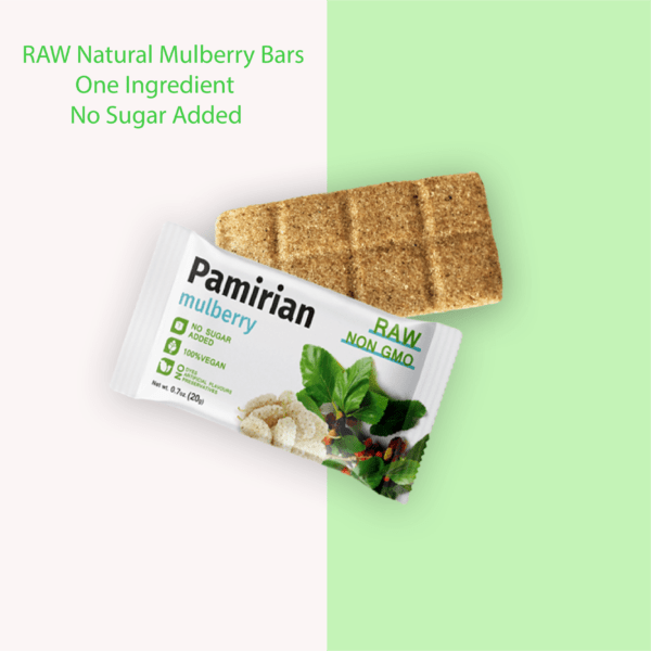 Mulberry Fruit Bar | Pack of 7 Bars | RAW 3