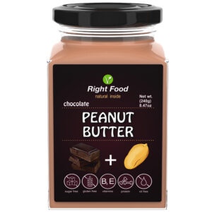 Peanut Butter with Chocolate Urbech 240g | Keto Butter | No Sugar Added | Vegetable Protein | Vegan Superfood