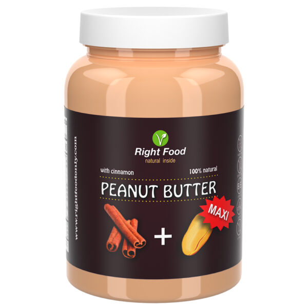 Peanut Butter with Cinnamon Urbech 1kg   Keto Butter   No Sugar Added   Vegetable Protein   Vegan Superfood