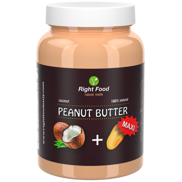 Peanut Butter with Coconut Urbech 1kg | Keto Butter | No Sugar Added | Vegetable Protein | Vegan Superfood