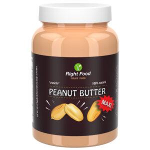 Crunchy Peanut Butter Urbech 1kg | Keto Butter | No Sugar Added | Vegetable Protein | Vegan Superfood
