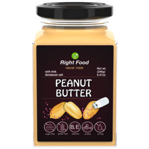 Peanut Butter with Pink Himalayan Salt Urbech 240g | Keto Butter | No Sugar Added | Vegetable Protein | Vegan Superfood