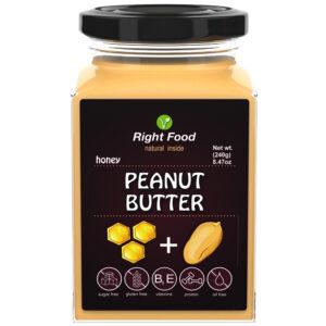 Peanut Butter & Honey 240g | Keto Butter | No Sugar Added | Vegetable Protein | Vegan Superfood