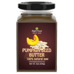 Pumpkin Seed Butter (8 oz) | Nut Butter | All-Natural Unsalted Seed Spread for Breakfast | Superfood Supports the Immune System & Helps Boost Energy | No Added Sugar or Fat | Vegan | Non-GMO