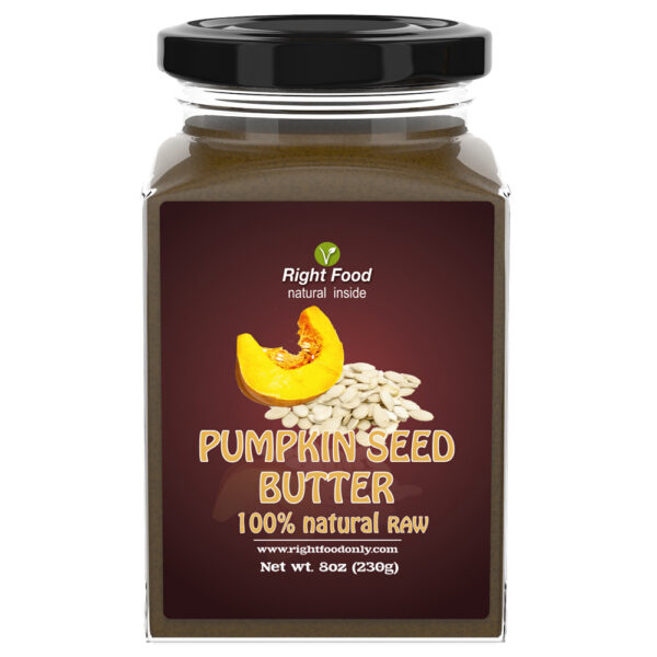 Pumpkin Seed Butter (8 oz)   Nut Butter   All-Natural Unsalted Seed Spread for Breakfast   Superfood Supports the Immune System & Helps Boost Energy   No Added Sugar or Fat   Vegan   Non-GMO