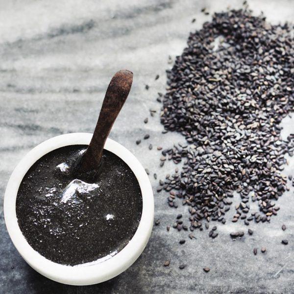 Black Sesame Seed Butter 1 kg Urbech 2