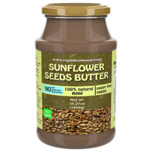 Sunflower Seed Butter 1 kg | no Sugar Added | 100% Superfood | Dairy Free | Nut-Free | Non GMO