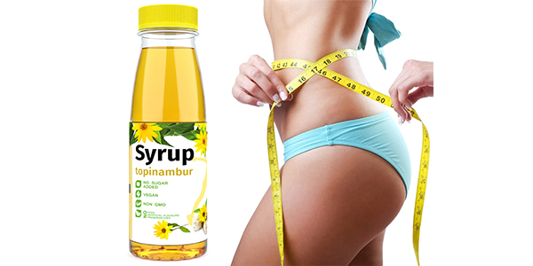 Topinambur syrup is a natural substitute for sugar which is made from Jerusalem artichoke or sunroot