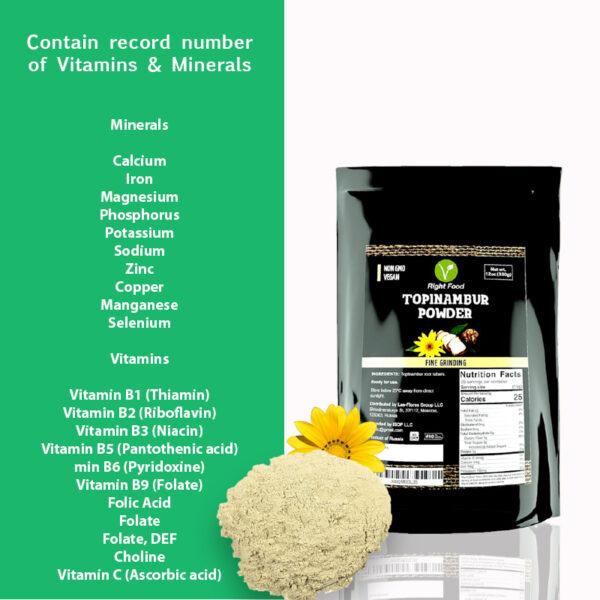 Topinambur Powder 12oz 2