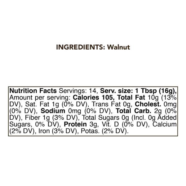 Walnut Butter 1 kg 1