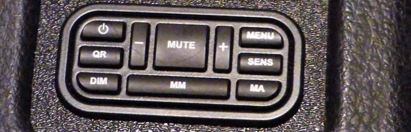 K40 RL360i control panel
