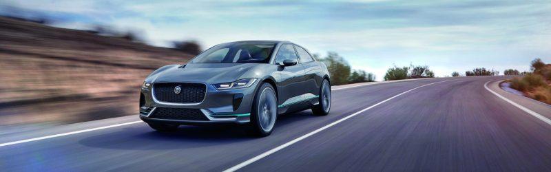 Jaguar I-Pace Concept on Road