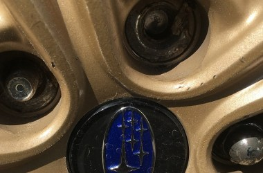 Broken wheel stud