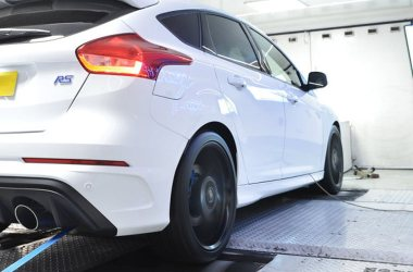 Ford Focus RS on Dyno