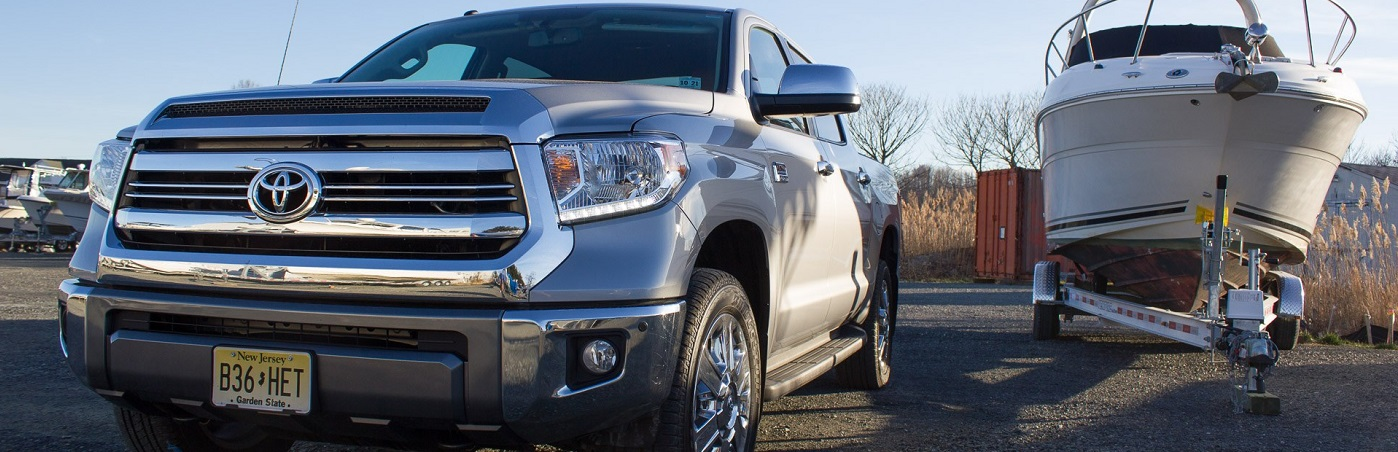 Silver 2017 Toyota Tundra 1794 Edition