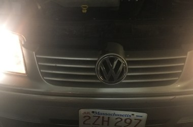 Jetta headlight restorer comparison