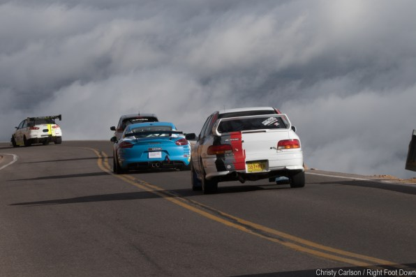 Tarmac Rally Stance - A bit higher than most on the mountain now.