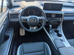 RX 350 F Sport Driver Cabin