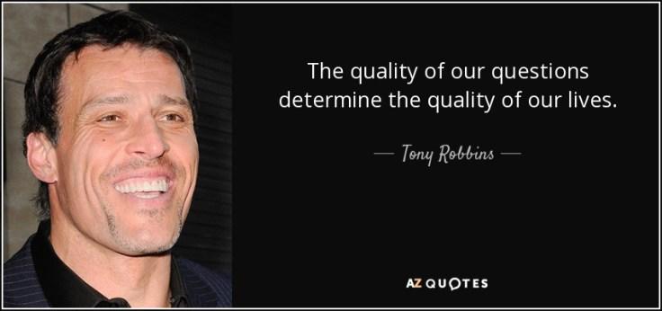 Tony Robbins Quality
