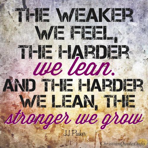 JJ-Packer-Quote-Lean-on-God