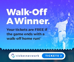 Get your tickets here and they're free with a walk-off winner