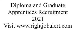Diploma and Graduate Apprentices Recruitment