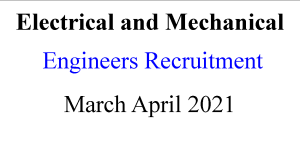 Electrical and Mechanical Engineering jobs in Delhi