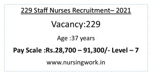 229 Staff Nurse Jobs 28700 to 91300 Pay Scale