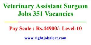 Veterinary Assistant Surgeon Jobs 351 Vacancies