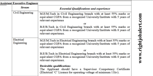 BE B.Tech or M.E./M.Tech in CSE/ECE/IT/Software Sciences or MCA Jobs